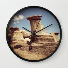 Hoodoos Wall Clock