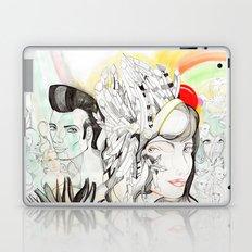 Crazy Family Laptop & iPad Skin