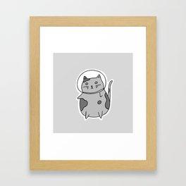 Space Cat II Framed Art Print