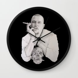 Savage Beauty Wall Clock