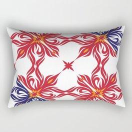 Floral Flow Rectangular Pillow