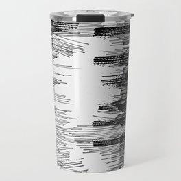 Polyline Distortion Travel Mug