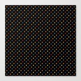Happy Rombs on Black Canvas Print