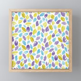 Watercolour Petals | Original Colours Framed Mini Art Print