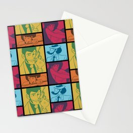 Lupin III Jazz Record Stationery Cards