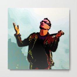 U2 / Bono 2 Metal Print