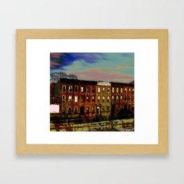 Franklin Ave, Brooklyn Framed Art Print
