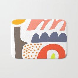 Abstrakte Formen 002 Bath Mat