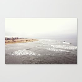 Multilayered Tide Canvas Print