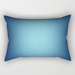 White spotlight on blue Rectangular Pillow