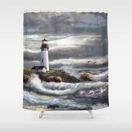 Beam of Hope Shower Curtain