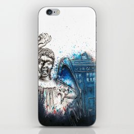 Don't blink. iPhone Skin