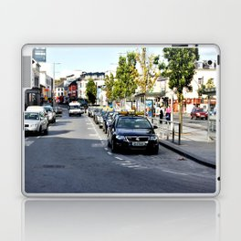 Taxi Stand, Eyre Square, Galway Laptop & iPad Skin