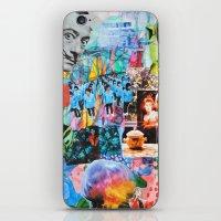 salvador dali iPhone & iPod Skins featuring Salvador Dali by John Turck