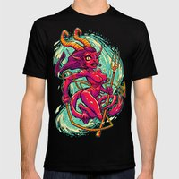 SHE-KRAMPUS Black X-LARGE Mens Fitted Tee