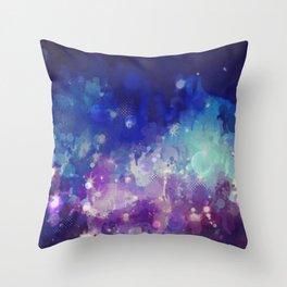Sparkle Nights Throw Pillow