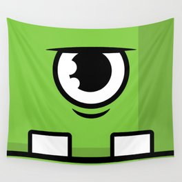 Monsters⁴ : Green Wall Tapestry