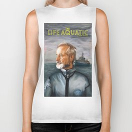 The Life Aquatic with Steve Zissou Biker Tank