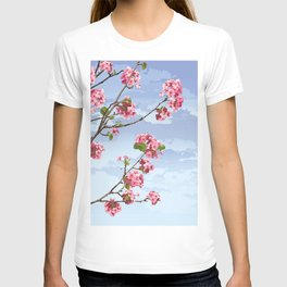 Pink Cherry Blossoms Sakura T-shirt