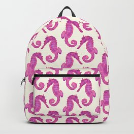 Cotton Candy Seahorse Dream Backpack