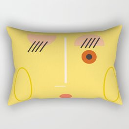 Whistle Lady Rectangular Pillow