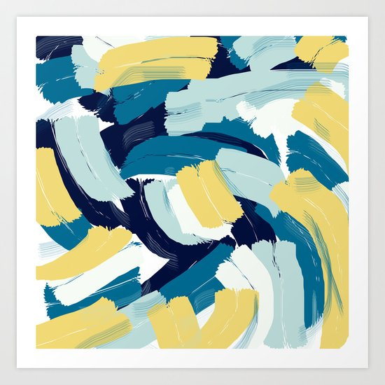 Abstract painting 111 Art Print