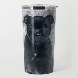 Staffordshire Bull Terrier Travel Mug