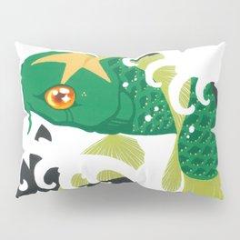 Astro Koi Green Pillow Sham