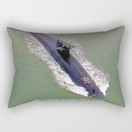 USS CASIMIR PULASKI (SSBN-633) Rectangular Pillow