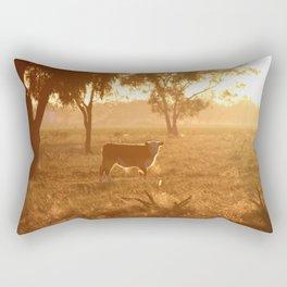 Caught in a Gaze Rectangular Pillow