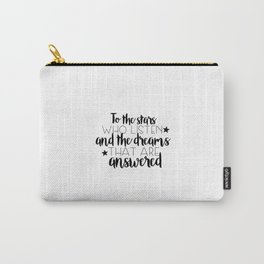to the stars who listen (MUG LEFT) Carry-All Pouch