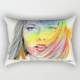 No rain, no rainbow Rectangular Pillow