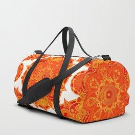 Sacral Chakra Mandala Duffle Bag