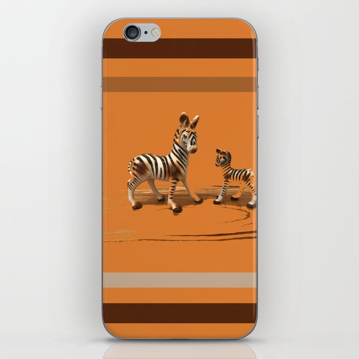 Butterscotch Stripes iPhone Skin