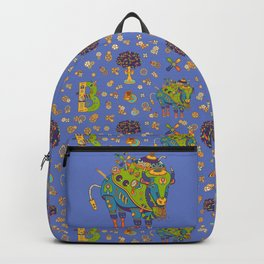 Bison, cool wall art for kids and adults alike Backpack