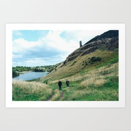 Arthur's Seat Edinburgh Art Print