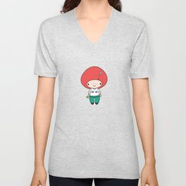 Much Fish in the Sea Unisex V-Neck