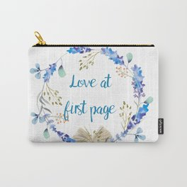 Love at first page Carry-All Pouch