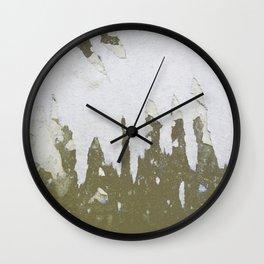 fish backbone Wall Clock