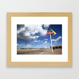 Route 66 Cafe Framed Art Print
