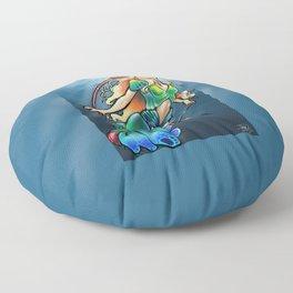 Mantis Shrimp Mermaid Floor Pillow