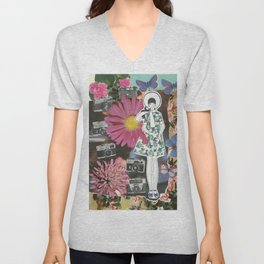 cameras and butterflies Unisex V-Neck