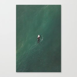 Get out there, 2018 Canvas Print