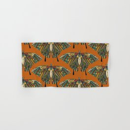 swallowtail butterfly copper Hand & Bath Towel