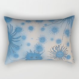 In Blue Rectangular Pillow
