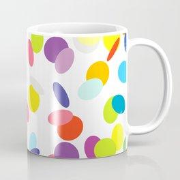 Flying confetti pattern Coffee Mug