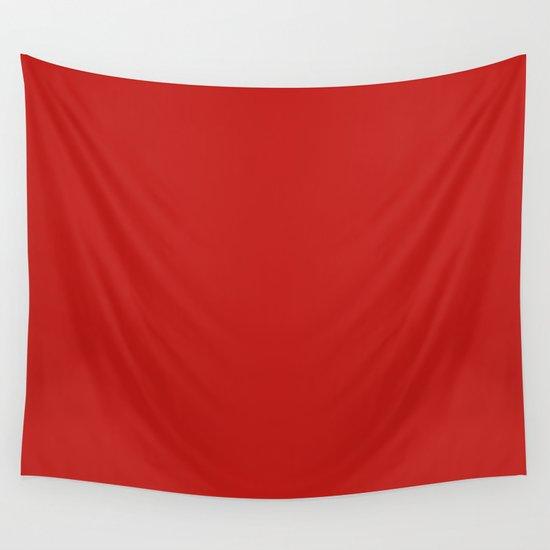 Dark Solid Chilli Pepper Red Color by podartist