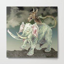 Party Animal Metal Print