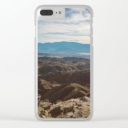 Joshua Tree National Park IV Clear iPhone Case