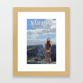 Canada's Cryptids' #4 Framed Art Print